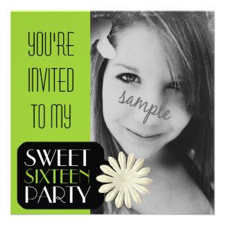 Fiesta del dulce 16 del chica de la verde lima con invitacion personal