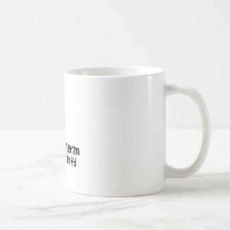 Fiesta del peregrino taza básica blanca