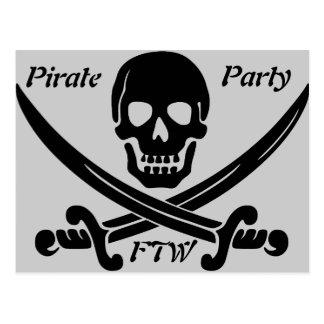 Fiesta del pirata - FTW Postal