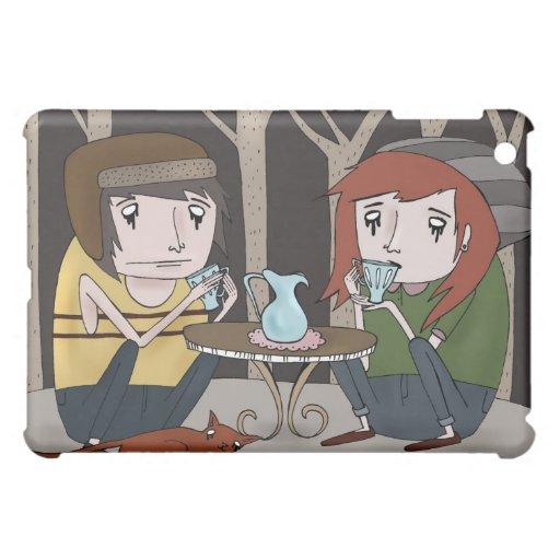 Fiesta del té del arbolado