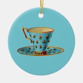 Fiesta del té especial adorno de cerámica