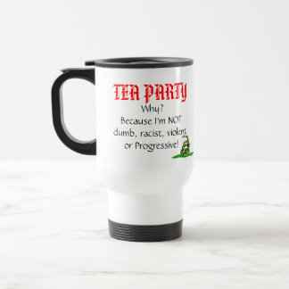 ¿Fiesta del té, por qué? Taza Térmica