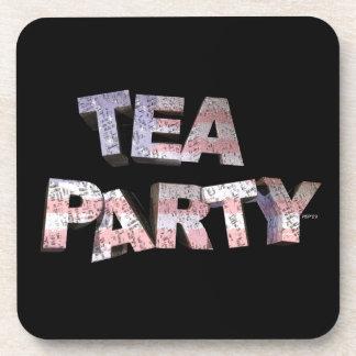 Fiesta del té posavasos