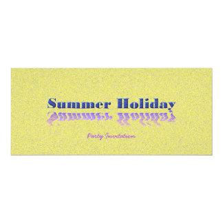 Fiesta del verano invitación 10,1 x 23,5 cm