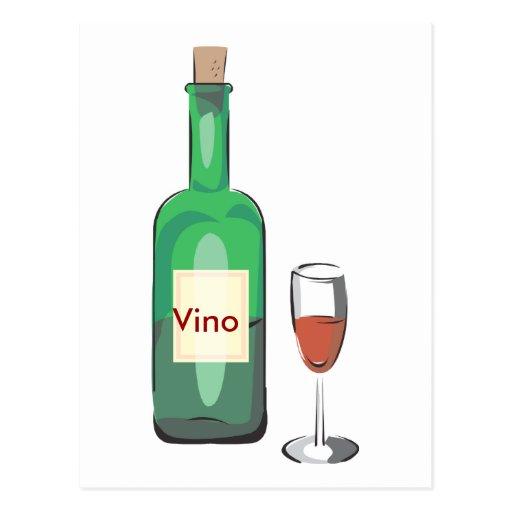 Fiesta del vino del soltero postal