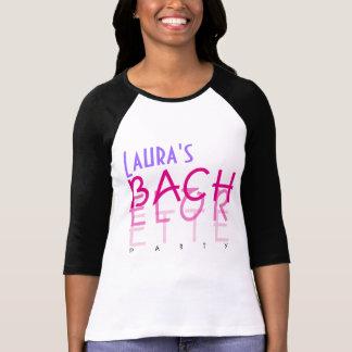 Fiesta descolorado de Bachelorette Camisetas