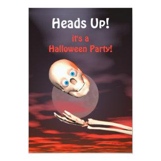 Fiesta divertido de Halloween del tiro del cráneo Comunicados Personales