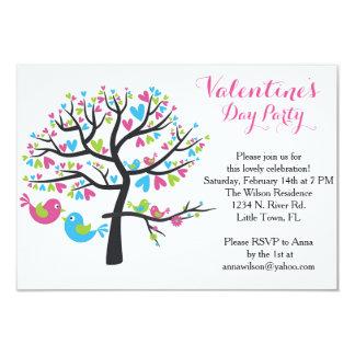 Fiesta dulce del el día de San Valentín de los Invitación 8,9 X 12,7 Cm