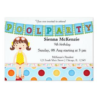 Fiesta en la piscina (chica) comunicado
