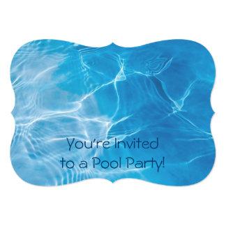 Fiesta en la piscina comunicado personal
