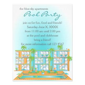 ¡Fiesta en la piscina! Invitacion Personalizada
