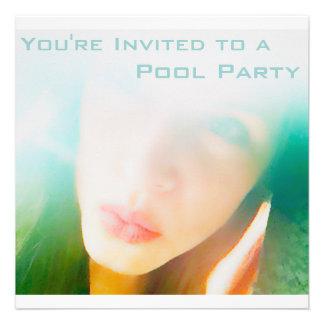 Fiesta en la piscina anuncio