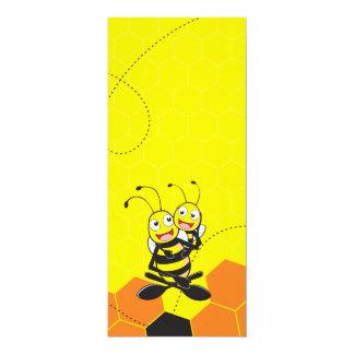 Fiesta feliz del hijo del papá de la abeja que invitación 10,1 x 23,5 cm