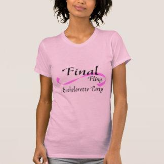 Fiesta final de Bachelorette del Fling Camisetas