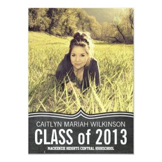 Fiesta grande del graduado de la foto de la comunicados personalizados