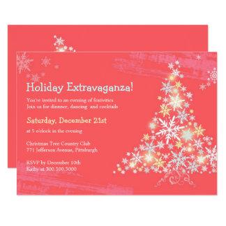 Fiesta maravilloso lindo de la extravagancia del invitación 12,7 x 17,8 cm