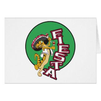 Fiesta mexicana tarjeta