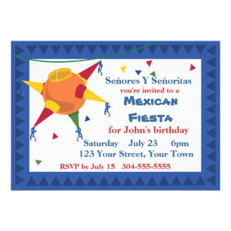 Fiesta mexicano de la fiesta del Pinata