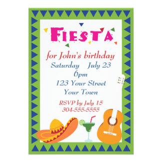 Fiesta mexicano de la fiesta comunicados personales