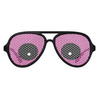Fiesta púrpura de los ojos del monstruo gafas de sol