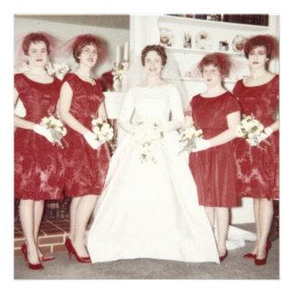 Fiesta retro de Bachelorette de los años 60 Anuncios