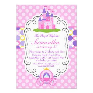 Fiesta rosada de la princesa cumpleaños del lunar
