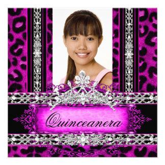 Fiesta rosado 2 de Quinceanera 15 de la tiara del  Comunicados