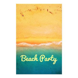Fiesta y celebraciones de la playa folleto 14 x 21,6 cm