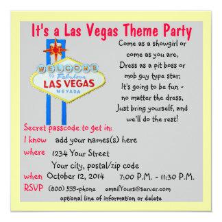 Fiestas coloridos del tema del signo positivo de invitación 13,3 cm x 13,3cm