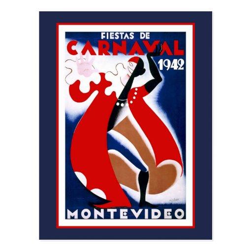 Fiestats De Carnaval 1942 Tarjetas Postales