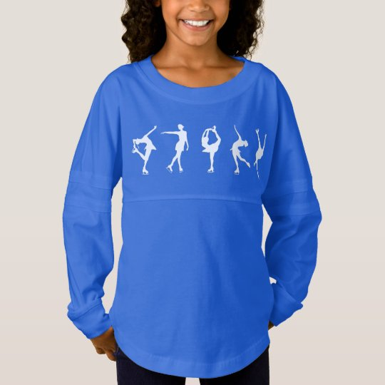 Figura camisa de manga larga de los chicas de los camiseta spirit