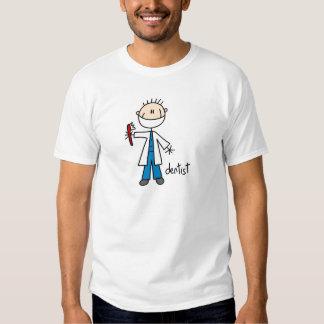 Figura camisa del palillo del dentista