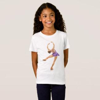 Figura camiseta del patinador