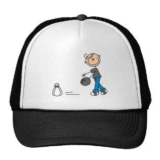 Figura camisetas y regalos del palillo de los bolo gorras de camionero
