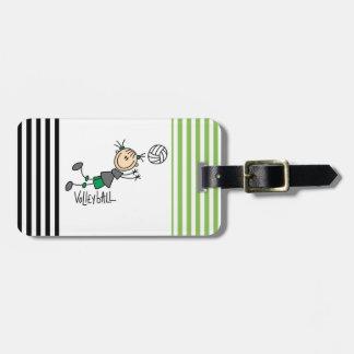 Figura camisetas y regalos del palillo del etiqueta para maletas