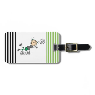 Figura camisetas y regalos del palillo del etiquetas para maletas