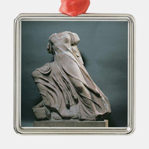 Figura de la ninfa, acroterion del templo de Phiga Adorno Para Reyes