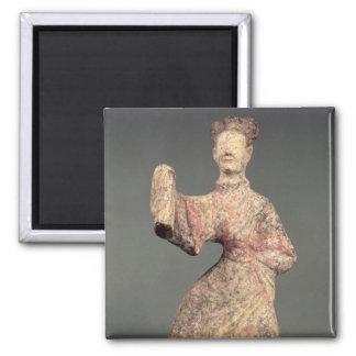 Figura de un bailarín de sexo masculino, artefacto imanes de nevera