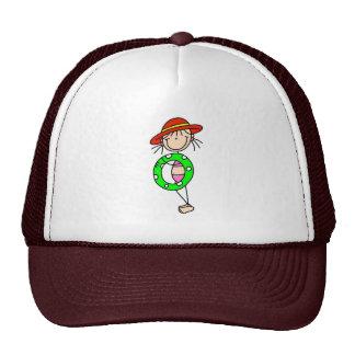 Figura del palillo con el gorra del tubo