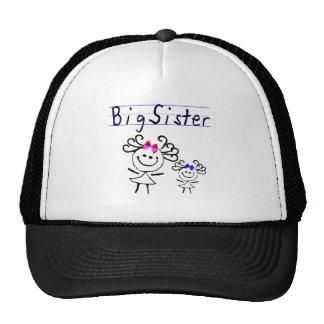 Figura del palillo de la hermana grande gorra