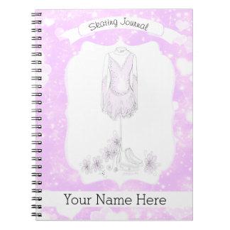 Figura diario del cuaderno del patín
