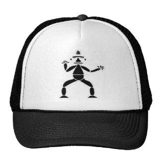 Figura dibujo del palillo gorra