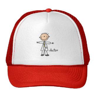 Figura el doctor Hat del palillo Gorros Bordados