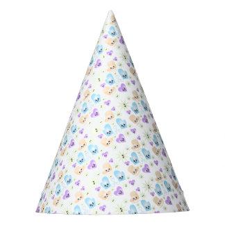 Figura fiesta de Kawaii de cumpleaños del patín Gorro De Fiesta