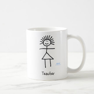 Figura genérica divertida linda dibujo animado del taza de café
