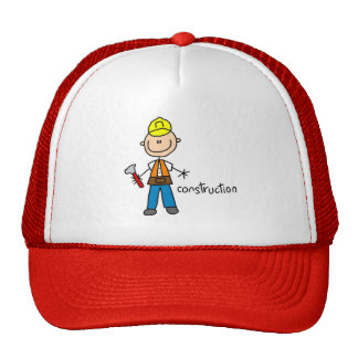 Figura gorra del palillo de la construcción