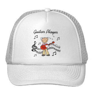 Figura gorra del palillo de la guitarra