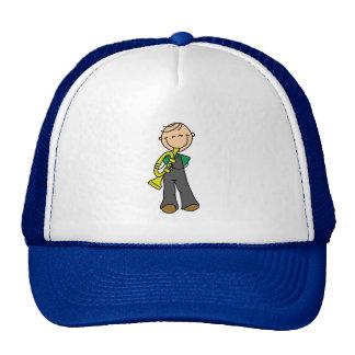 Figura gorra del palillo de la trompeta