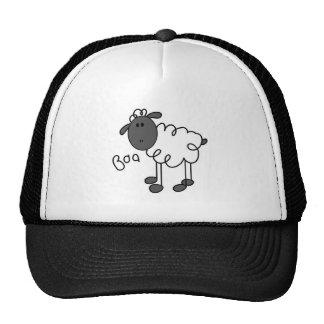 Figura gorra del palillo de las ovejas