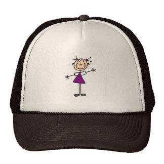 Figura gorra del palillo del chica